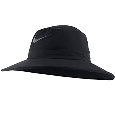 Nike Golf Sun Protect Bucket Hat Black Anthracite M L  Amazon.co.uk   Clothing f054323e692b