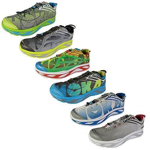 Pictures of HOKA ONE ONE Mens Huaka Running Sneaker Shoe 8 M US 1