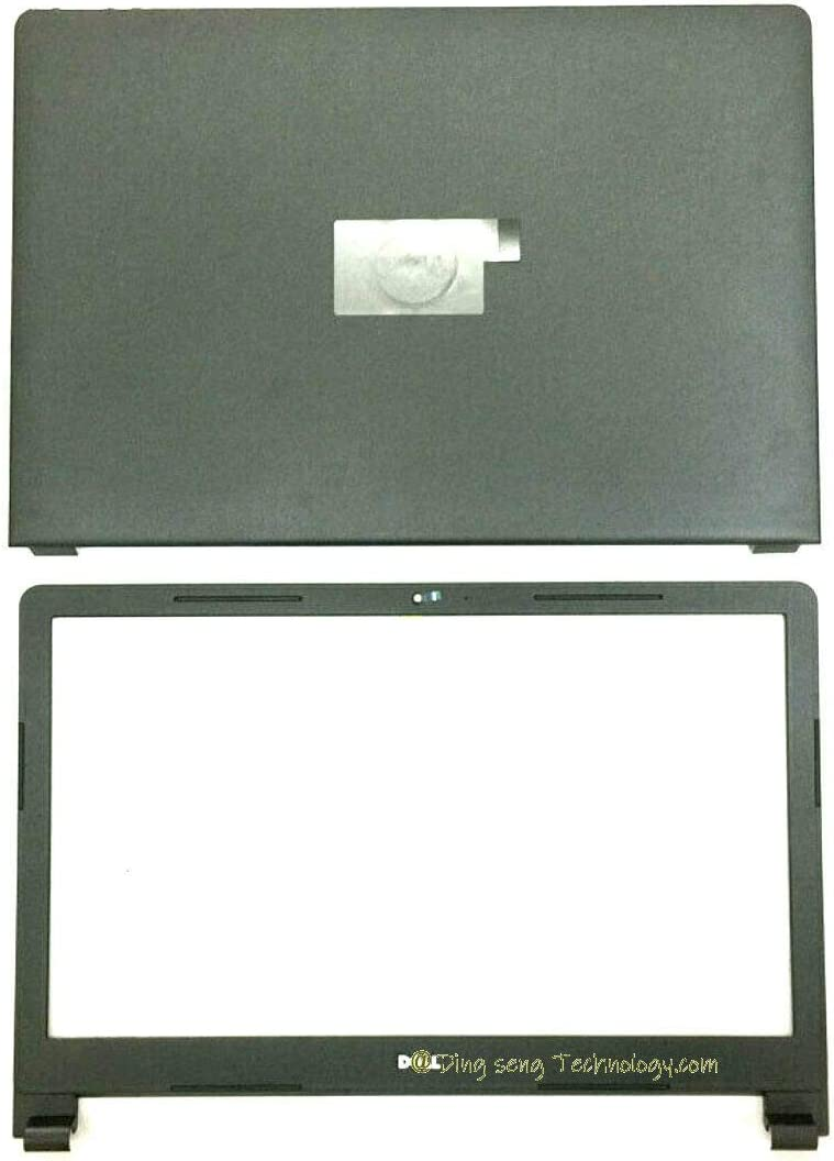 Replace for Dell Inspiron 15 3565 3567 LCD Back Cover Top Base Rear Lid+Front Bezel