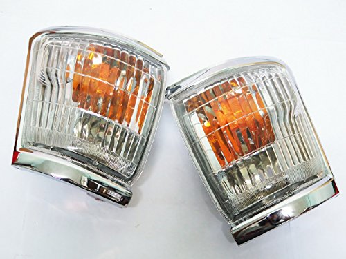 FRONT CORNER INDICATOR LIGHT PAIR FOR TOYOTA HILUX TIGER 1998-01 99 MK4 PICKUP