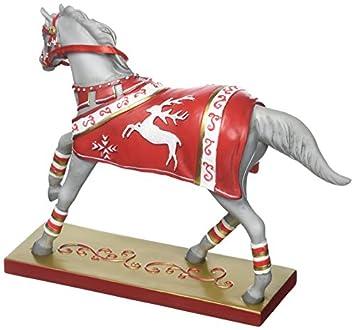 Enesco Trail of Painted Ponies Crimson Joy Stone Resin Figurine, 6.5