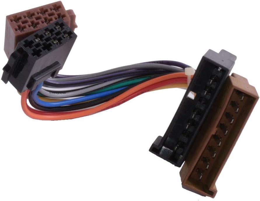 Autoradio Adapter Iso Auf Din Ford Alt 5 Pol Stromanschluß Elektronik