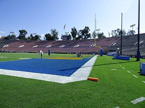 Home Comforts Canvas Print Football Turf Rose Bowl UCLA Pasadena Stretched Canvas 10 x 14 - Bowl Ucla Football Rose