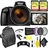 Nikon COOLPIX P1000 Digital Camera + 512GB Sandisk Extreme Memory Card Extreme Kit International Model