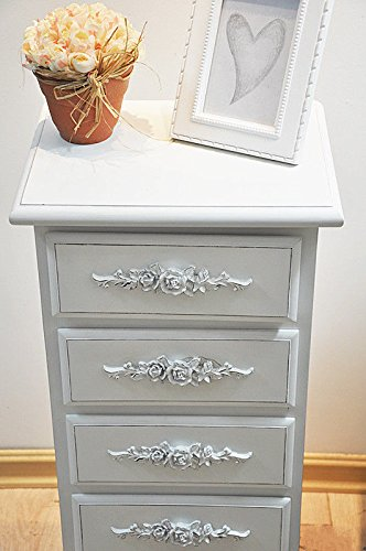 Shabby Chic Floral Chest of Drawers