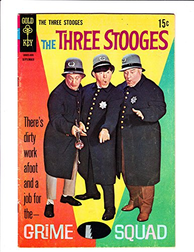 The Three Stooges No.401968 Grime Squad Cover :