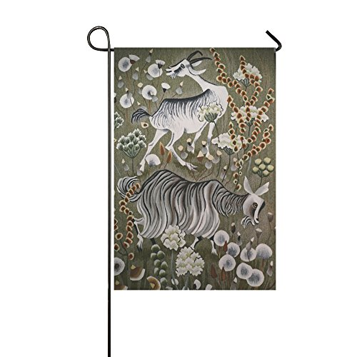 (Home Decorative Outdoor Double Sided Tapestry Gobelin Dom Robert 1907-1997 Benedictine Garden Flag,house Yard Flag,garden Yard Decorations,seasonal Welcome Outdoor Flag 12 X 18 Inch Spring Summer Gift)
