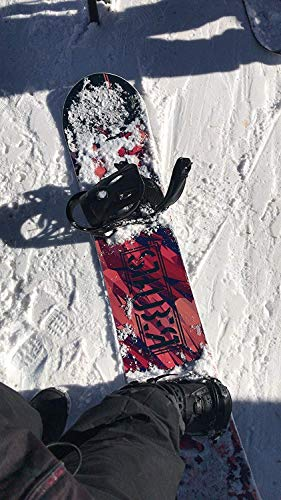 STAUBER Summit Snowboard, Size 161, 158, 153, 148 Best All Terrain, Twin Directional, Hybrid Profile Designed for All Levels