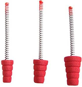 3 x 3pks Eagle Claw Ice Fishing Spring Bobbers Slab Stopper  Free Shipping