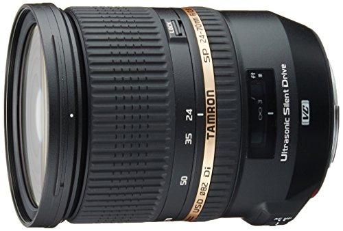 Tamron SP 24-70mm F/2.8 Di VC USD, Canon – Objetivo (Canon, Standard zoom, SLR, 0.945 – 2.76″ (24 – 70 mm), Canon)