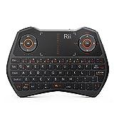 Rii® Mini Wireless Backlit Touchpad Keyboard ,Gamepad-feeling Work for PC,Raspberry Pi 2 3, Android TV Box ,XBMC,Windows 7 8 10