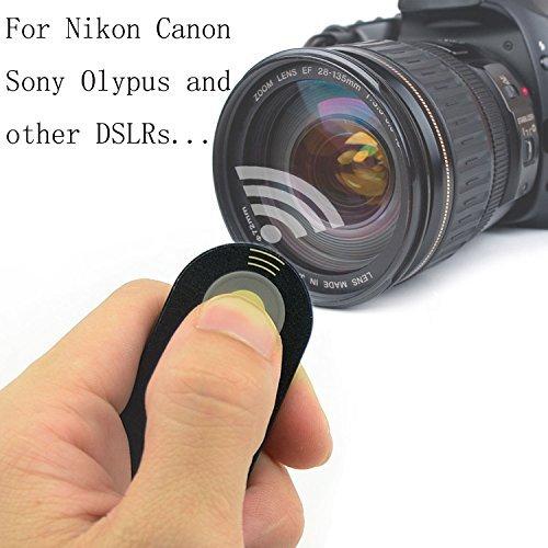SmilePowo universal remote control Shutter Release FOR Canon RC-6, Nikon ML-L3, Wireless Remote Control, Canon, Nikon, Pentax, Olympus, SONY,Fujifilm,Panasonic,SLR/DSLR Cameras