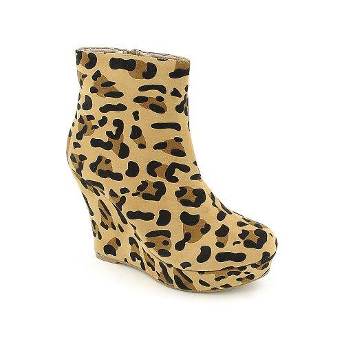 Glasur Womens Alexa-en Boot Leopard