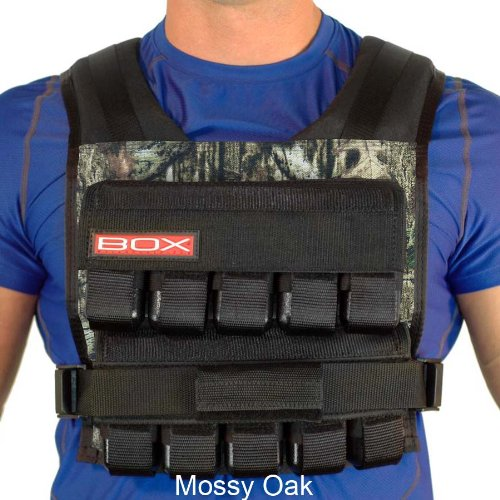 50 Lb. BOX Crossfit Weightvest (Mossy Oak) by Weight Vest
