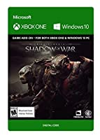 Middle-earth: Shadow of War - Outlaw Tribe Nemesis Expansion - Xbox One / Windows 10 [Digital Code]