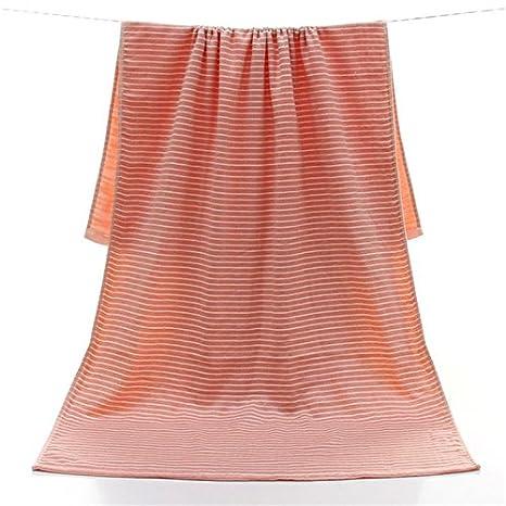 gestreift türkisches Handtuch DAYOLY Badetuch für Damen und Herren 70 x 140 cm Yoga Pilates Strandtuch Picknickdecke Blau grün Badetuch Schal Baumwolle saugfähig und schnell trocknend