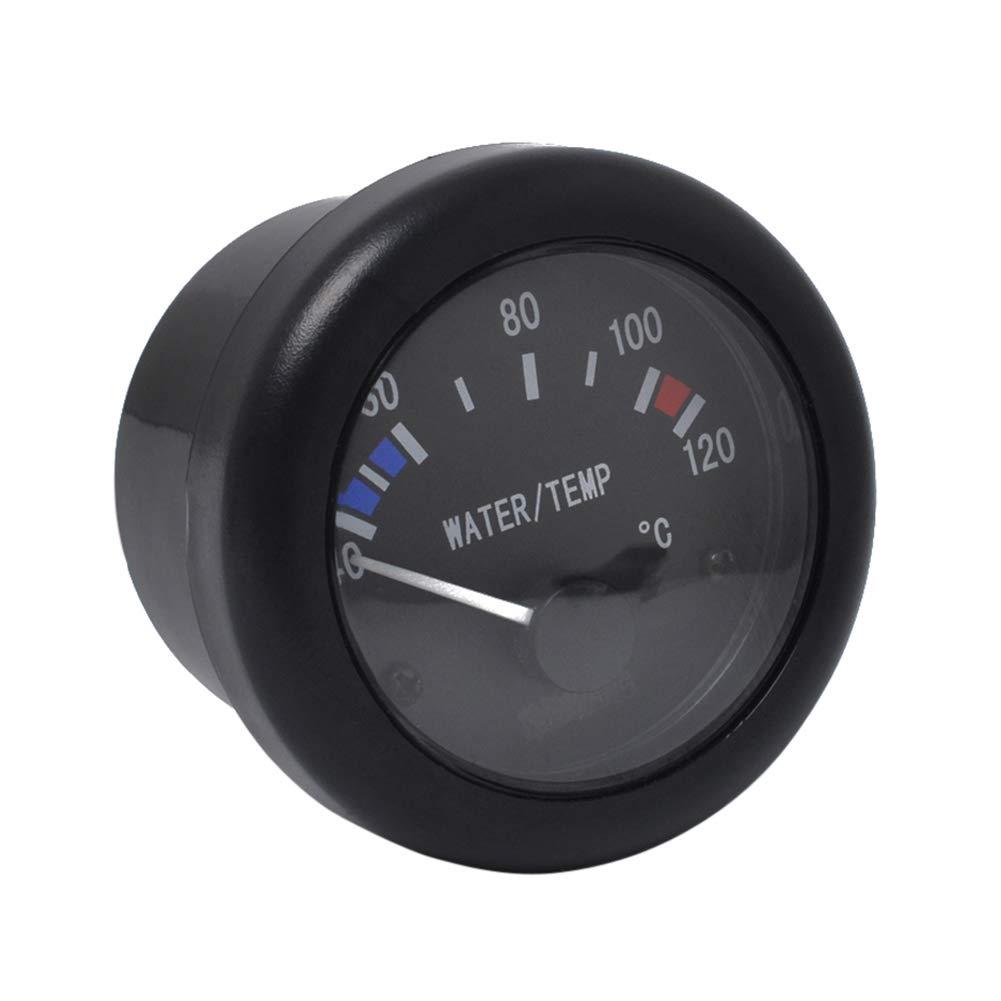 Ahomi - Medidor de temperatura de agua con sensor de alarma, 12 V