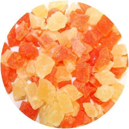 Exotic Nutrition Papaya & Pineapple Treat 3 lb. Healthy Treat for Small Animals
