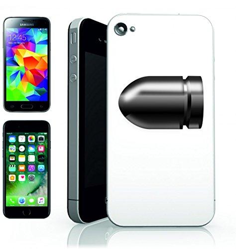 Smartphone Case Palla di munizioni Della Cartuccia del calibro di Colpo della pistola di fuoco Arma della protezione della Polizia del Fuoco del Revolver di ripresa per Apple Iphone 4/4S, 5/5S, 5C,