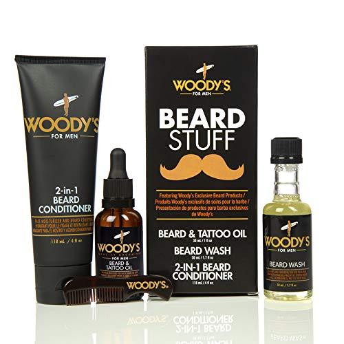 Woodys Beard Stuff Kit Conditioner