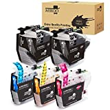 MIROO 5 Pack LC3019 XXL Ink Cartridge (2 Black 1 Cyan 1 Magenta 1 Yellow) Super High Yield, Work on Brother MFC-J6930DW MFC-J6530DW MFC-J5330DW MFC-J6730DW Printer