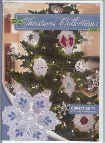 OESD Christmas Collection 2010 Embroidery Designs CD #1 1 Embroidery Design