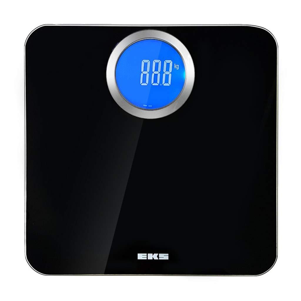 電子体重計 (色 - ヒューマンスケール B07NM6FQV9、体重計、家庭用健康スケール、電池×4 (色 : 白) 電子体重計 B07NM6FQV9 ブラック ブラック, STファニチャー:4b8f9901 --- lembahbougenville.com