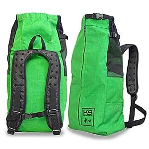 K9 Sport Sack V2 - The Original Dog Carrier Backpack - Small - Emerald Green