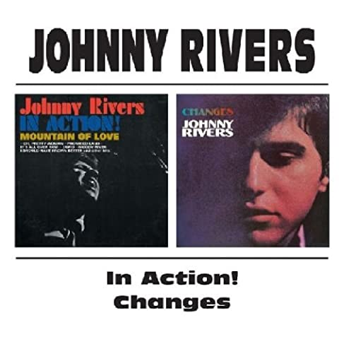 Johnny Rivers - In Action! / Changes - Action Cd