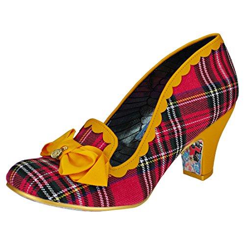 Irregular Choice Kanjanka Womens Shoes Pink Multicolour - 38 (Irregular Choice Women Footwear)
