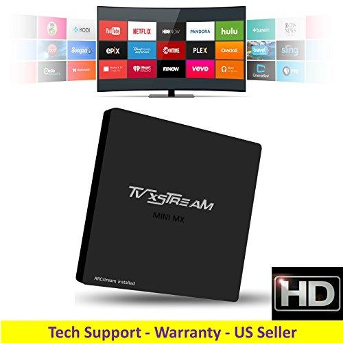 ARCstream MINI-MX Android 5.1 S905 Quad Core 1GB/8GB 2.0GHz Processor - SMART TV BOX & MINI PC