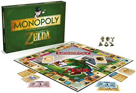 Winning Moves - 0967 - Monopoly Zelda - Version Française