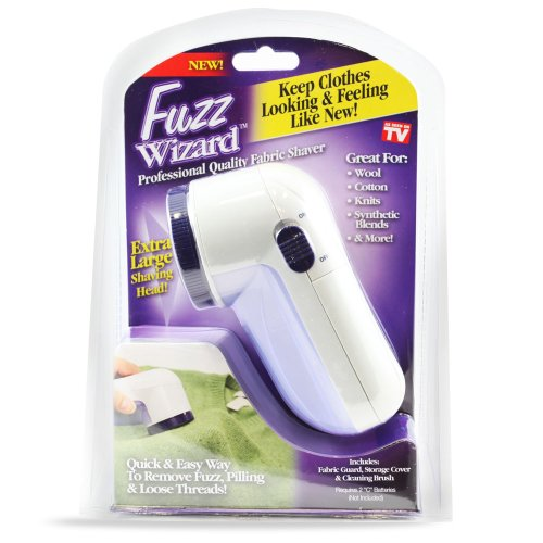 Fuzz Wizard Professional Quality Fabric Shaver