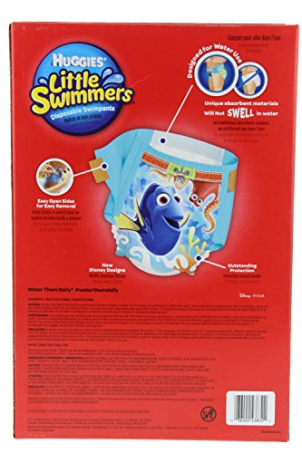 Huggies Little Swimmers Disposable Swimpants Large - Bonus 56 Wipes Included! by Huggies (Image #1)