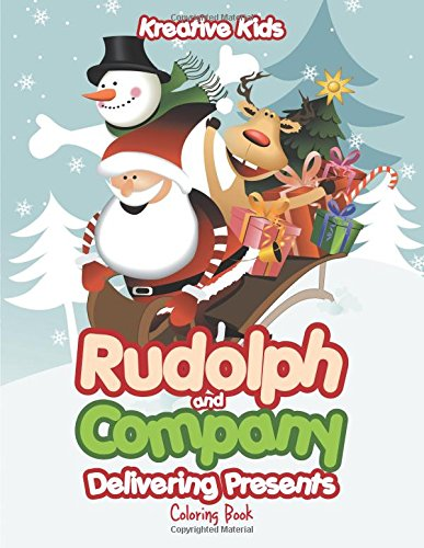 Download Rudolph and Company Delivering Presents Coloring Book PDF