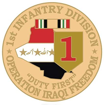 Amazon US Army 1st Infantry Division Operation Iraqi Freedom 1