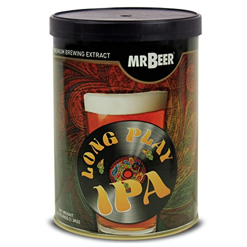 Mr. Beer Long Play IPA 2 Gallon Homebrewing, Refill, Multicolor (Best Session Ipa Beer)