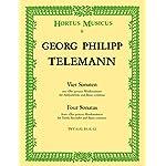 Telemann: 4 Sonatas for Treble Recorder