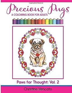 Amazoncom PugDala Coloring Book 9781943356225 Laurren Darr Books
