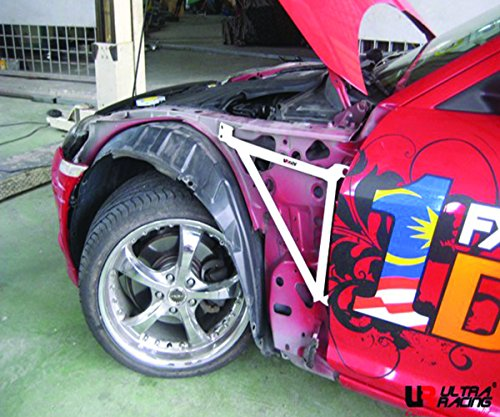 ULTRA RACING 3-Point Fender Bar Brace (1 Pair) Mazda RX8 RX-8 SE3P (Mazda Rx 8 Fender)
