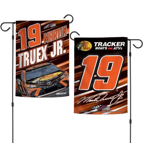 (WinCraft NASCAR Garden Flag 2 - Sided Driver's Number & Graphics 12.5' x 18