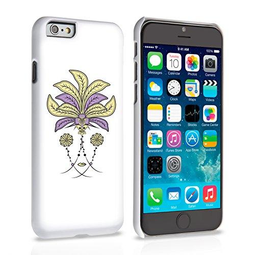Caseflex iPhone 6 / 6S Hülle Rosa Blumen Kopfschmuck Hart Schutzhülle