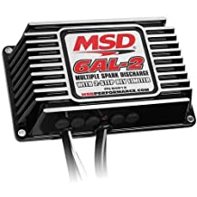 MSD Ignition 64213 Digital 6AL-2 Ignition Control Per Spark Energy: 135 mJ 2-Ste by MSD Ignition