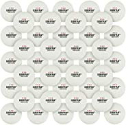 Click N' Play Ping Pong Balls 3-Star Premium Advanced Training Tournament Grade Table Tennis Balls White (