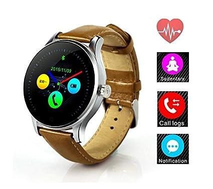 Amazon.com: Smart Watch Track Wristwatch MTK2502 Bluetooth ...