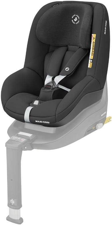 Maxi-Cosi Pearl Smart I-Size Silla coche bebé contromarcha y reclinable, se utiliza en combinación con la base isofix FamilyFix One i-Size, silla auto bebé 6 meses - 4 años, color Authentic Black