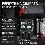 NOCO GENIUS2X2, 2-Bank, 4-Amp