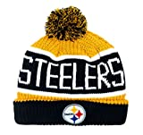 NFL Pittsburgh Steelers Calgary Cuff Knit Cap with Pom