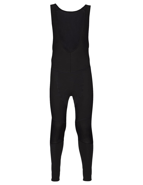 Noir XXL VAUDE Alphapro Bib Pants, Isolation Pantalon pour de Sport avec Rembourrage au Niveau de l'assise