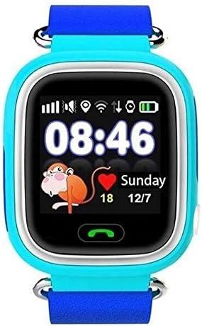 Cewaal Q90 GPS Tracker Tarjeta Sim Llamada SOS Reloj Baby Samrt con Pantalla táctil de 122 Pulgadas Anti-perdida para niños